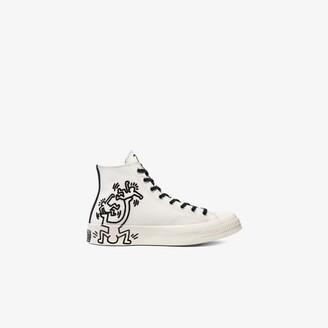Converse Neutrals X Keith Haring Neutral Chuck 70 High Top Sneakers