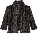 Sequin Hearts Knit Cardigan, Big Girls (7-16)
