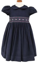Sorbet Girl's Embroidered Smocked Waist Dress