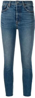 GRLFRND Cropped Skinny Jeans