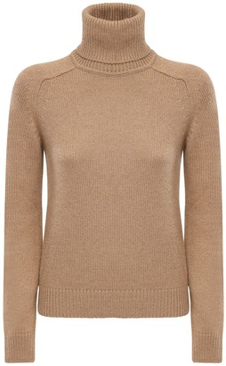 Saint Laurent Camel Knit Sweater