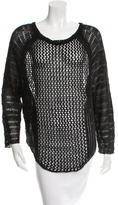 Zadig & Voltaire Open Knit Scoop Neck Top w/ Tags