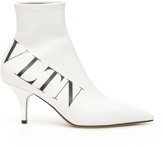 Valentino VLTN Printed Ankle Boots