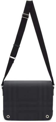 Burberry Black London Check Bruno Bag