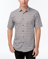 Alfani Men's Big and Tall Print Shirt, Only at Macy's