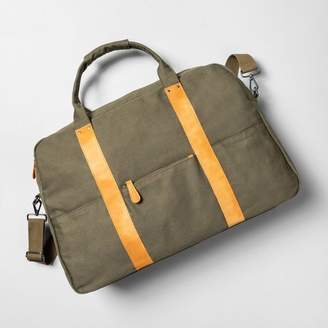 Hearth & Hand with Magnolia Weekender Bag Green - Hearth & Hand with Magnolia
