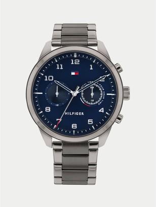 Tommy Hilfiger Gunmetal Bracelet Watch