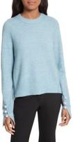 3.1 Phillip Lim Women's Faux Pearl Cuff Knit Pullover