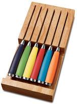 Fiesta 6-pc. Multicolor Steak Knife & Drawer Tray Set