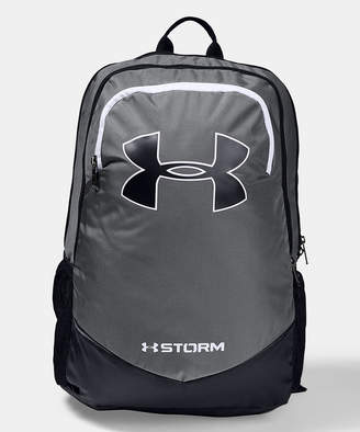 Under Armour Boys' Backpacks Graphite/Black - Graphite & Black Storm Scrimmage Backpack