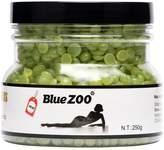 Bluezoo Depilatory Hard Wax Beads Stripless Hot Film Waxing Pellets for Body Bikini Hair Removal 250g Smell