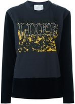 Sacai studded liife sweatshirt