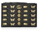 Gucci Metal Mix GG MarmontLeather Pouch
