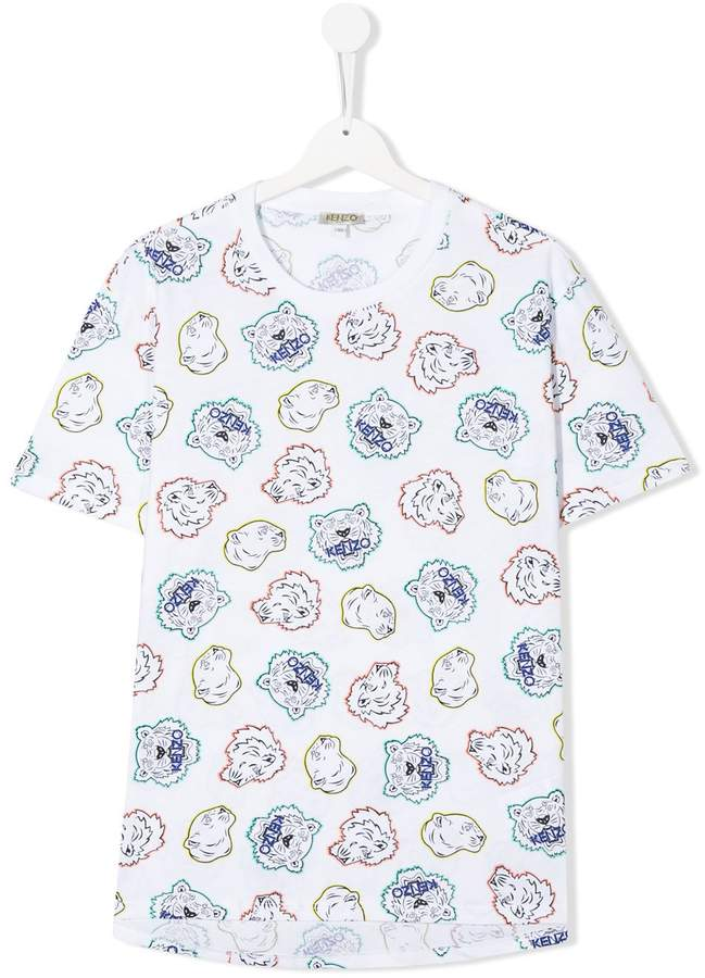 Kenzo all-over Tiger T-shirt