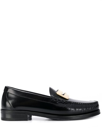 Buscemi Plaque Embellished Loafers