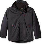 Free Country Men's Big and Tall Cubic Dobby Mid-Weight Jacket with Detachable Hood