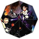 Rainy Day Custom Prince Purple Rain Foldable Umbrella Fashion Design All Weather Umbrella