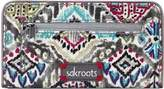 Sakroots Women's Artist Circle Slim Wallet - Slate Brave Beauti Wallets