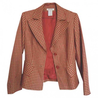 Georges Rech Red Wool Jacket for Women