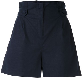 PatBO Paper Bag Waist Shorts