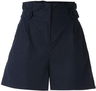 PatBO paper bag waist shorts