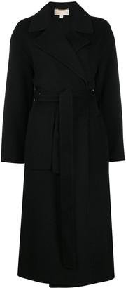 MICHAEL Michael Kors Double-Face Wool Robe Coat