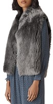 Thumbnail for your product : Whistles Reversible Shearling Vest