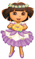 Nickelodeon Room Mates Dora The Explorer Enchanted Forest Adventures Giant Wall Decal