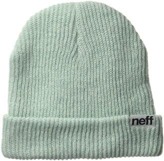 Neff Men's Heather Fold Cuffed Beanie Unisex Best Soft Winter Hat Cap