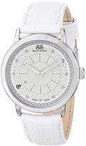 88 Rue du Rhone Women's 87WA120019 Analog Display Swiss Quartz White Watch