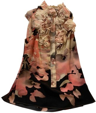 Francesco Scognamiglio Multicolour Silk Top for Women