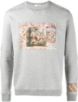 Valentino lion print sweatshirt - men - Cotton/Polyamide - XS