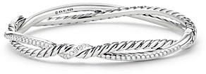 David Yurman Continuance Full Pave Bracelet with Diamonds