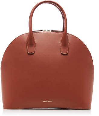 Mansur Gavriel Rounded Leather Top Handle Bag