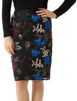 Fenn Wright Manson Petite Lulu Skirt, Black/Blush