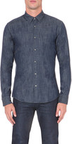 HUGO BOSS Slim-fit denim shirt