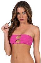 Volcom Women's Be Mayan Bandeau Bikini Top