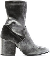 Strategia velvet ankle boots