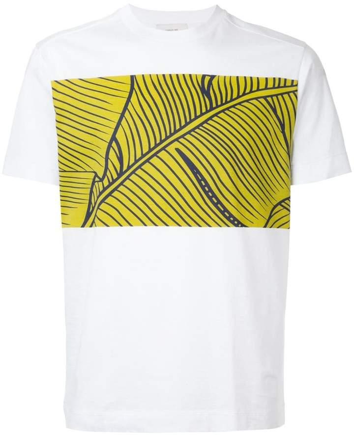 Cerruti leaf-print T-shirt