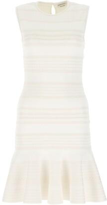 Alexander McQueen Striped Mini Dress