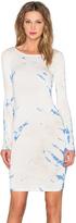 Gypsy 05 Long Sleeve Shirred Mini Dress