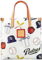 Dooney & Bourke MLB Vinyl Padres Lunch Tote