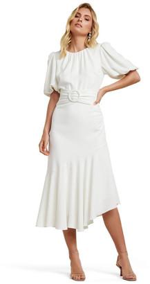 Forever New Celeste Puff Sleeve Maxi Dress