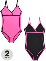Very Girls Core Swimsuits (2 Pack)