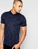 Jack and Jones Spacedye Polo Shirt
