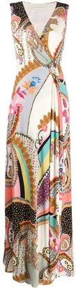 Etro paisley print maxi dress