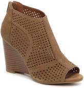 Moda Spana Women's Uma Wedge Bootie -Brown