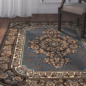 Blue Area Astoria Grand Arkin Rug Astoria Grand