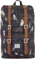 Herschel Striped Practical Little America Mid-Volume Backpack