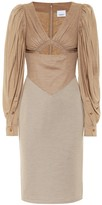 Burberry Wool and silk dress